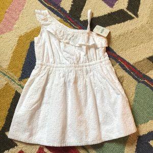 NWT Gymboree white cotton eyelet dress 3T